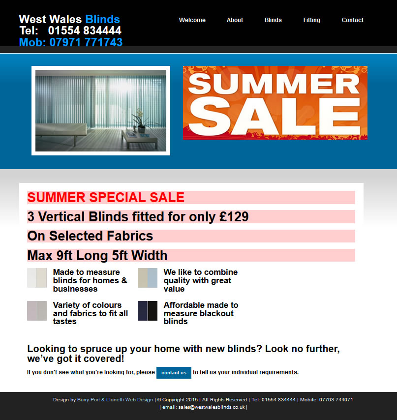 blinds and curtains website